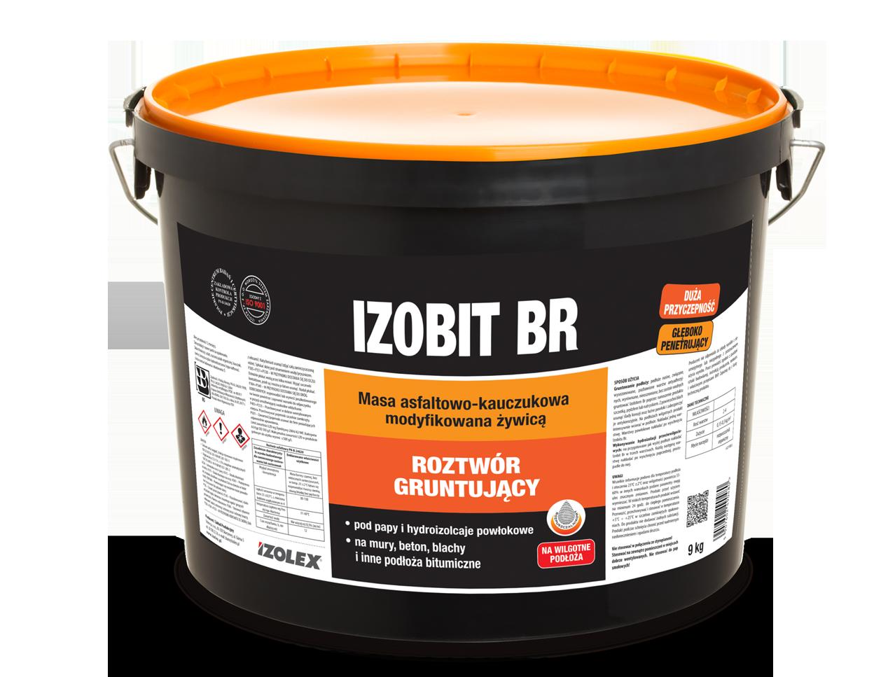 Мастика праймер для огрунтовывания поверхностей Izolex IZOBIT BR 18 кг