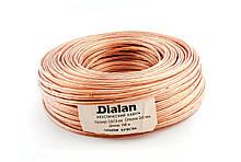 Акустичний кабель Dialan CCA 2x2.00 мм ПВХ 100 м