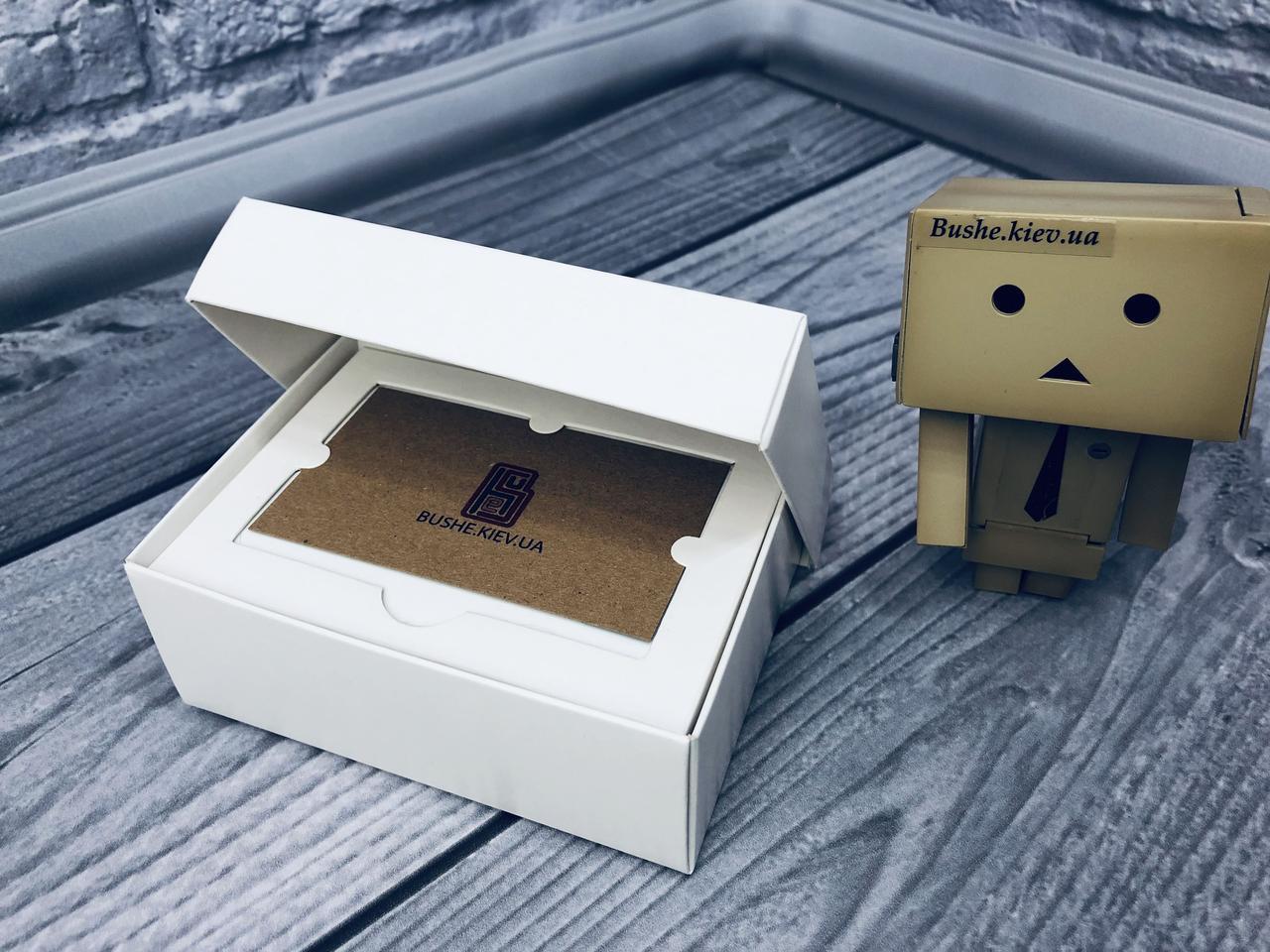 *10 шт* / Коробка для пластиковой карты / 140х85х45 мм / Белый / б.о.