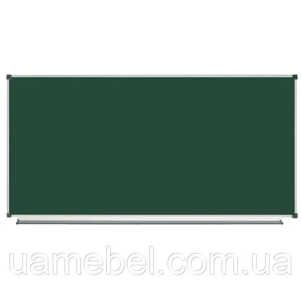 Школьная доска магнитная меловая металлокерамическая, 200х100 см