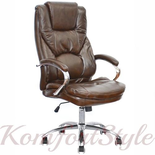Крісло офісне Rain brown (коричнева)