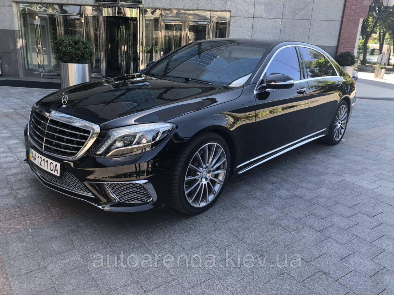 Аренда Mercedes W222 S65 Style