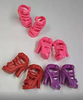 Босоножки на каблуке, обувь для куклы Барби