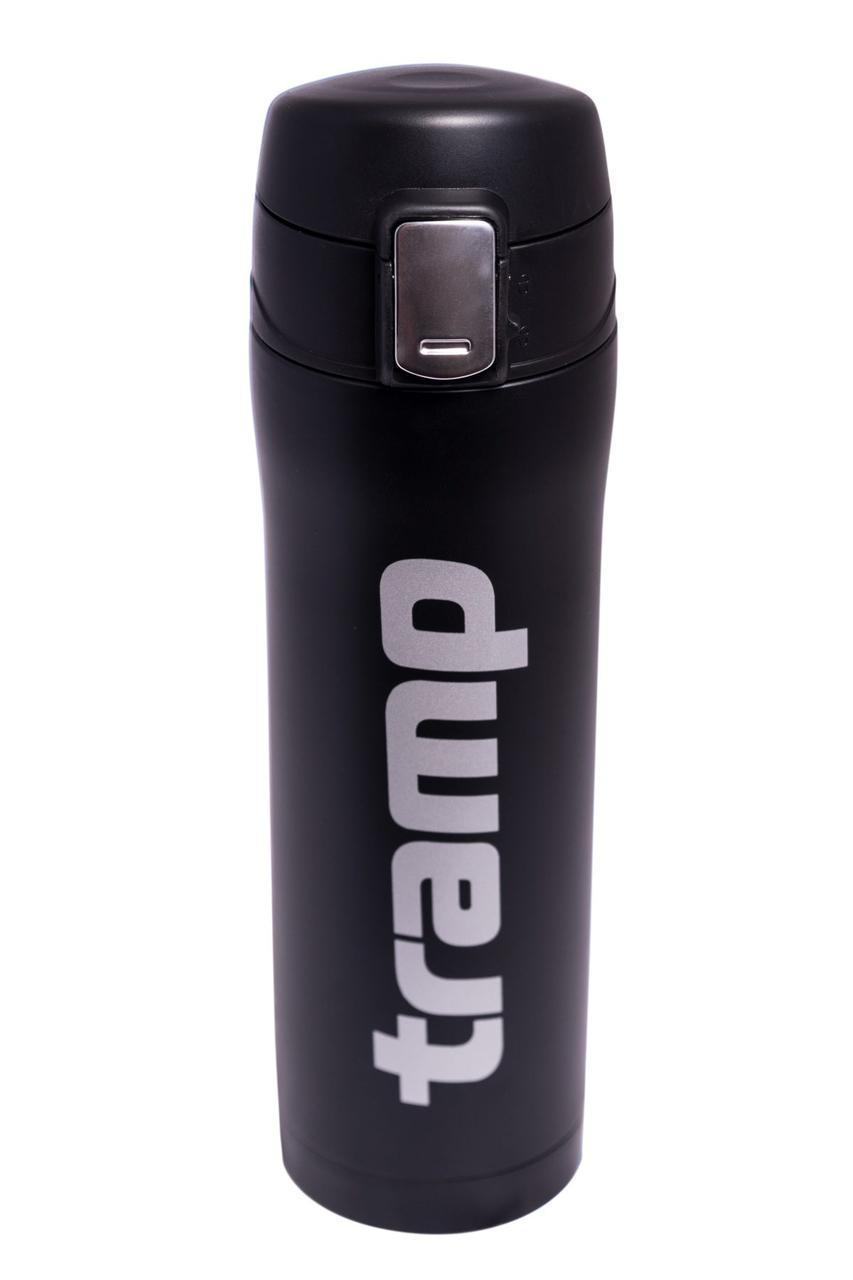 Термос 0,45 л черный матовый Tramp TRC-107-black