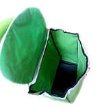 Тачка сумка с колесиками кравчучка металл 94см MH-2079 зеленая, фото 5