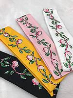 Твилли, Twilly, платок для волос, украшение для волос, платок на сумку Хлопок, фото 1