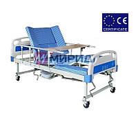 Медицинская функциональная кровать с туалетом E30 для реабилитации Mirid, фото 1