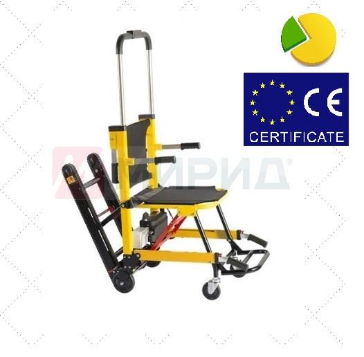 Лестничный электрический кресло-подъемник 003-А для инвалида Mirid