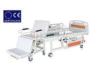 Медицинская электрокровать W01 с функцией мобильного кресла, санитарное устройство для инвалида