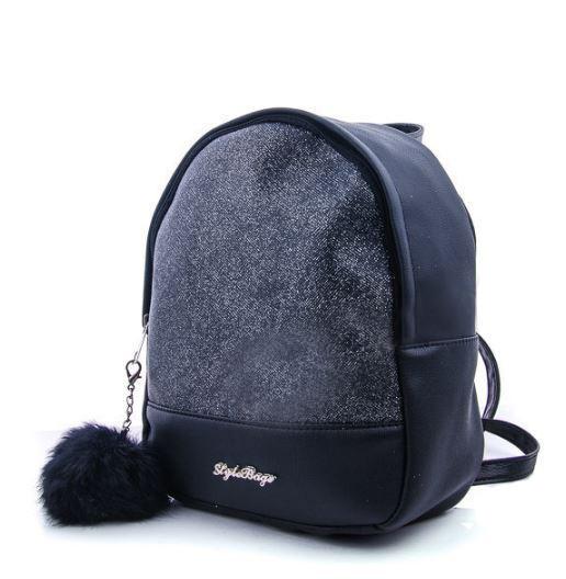 Рюкзак молодіжний WeLassie 45351, чорний блиск