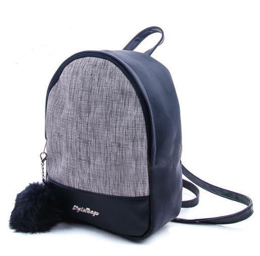 Молодежный рюкзак WeLassie 45352, серый блеск