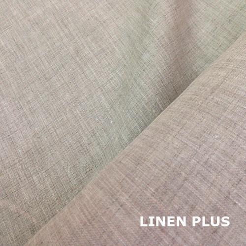 Светло-серая льняная ткань
