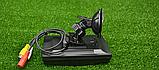 """Кольоровий автомобільний монітор 4,3"""" з 2-ма відеовиходами для камери заднього виду, фото 8"""