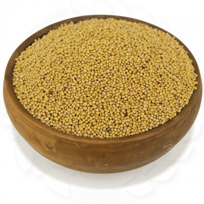 Горчица желтая органическая в пакете 0.5кг