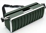 Портативна Bluetooth колонка SPS X11S LCD, зелена, фото 2