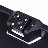 Камера заднього виду у рамці номерного знака з LED підсвічуванням SmartTech H88 5033, фото 4