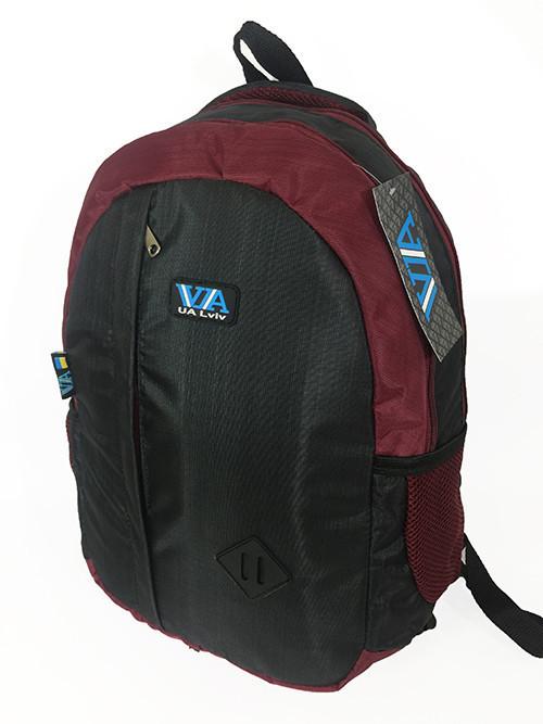 Рюкзак шкільний VA R-69-126, чорний-бордо