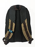 Рюкзак школьный VA R-69-127, черный-коричневый, фото 2