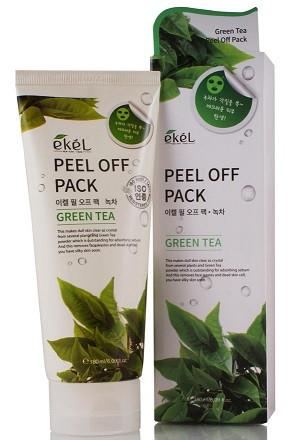 Маска-плівка для обличчя з екстрактом зеленого чаю 180мл