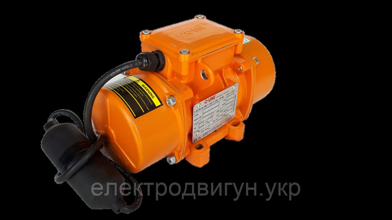 Майданчиковий вібратор EVM-M 130/3 (220В) КИМ-Р (UNI) Туреччина (аналог ЕВ-320Е, ІВ-01-50Е)