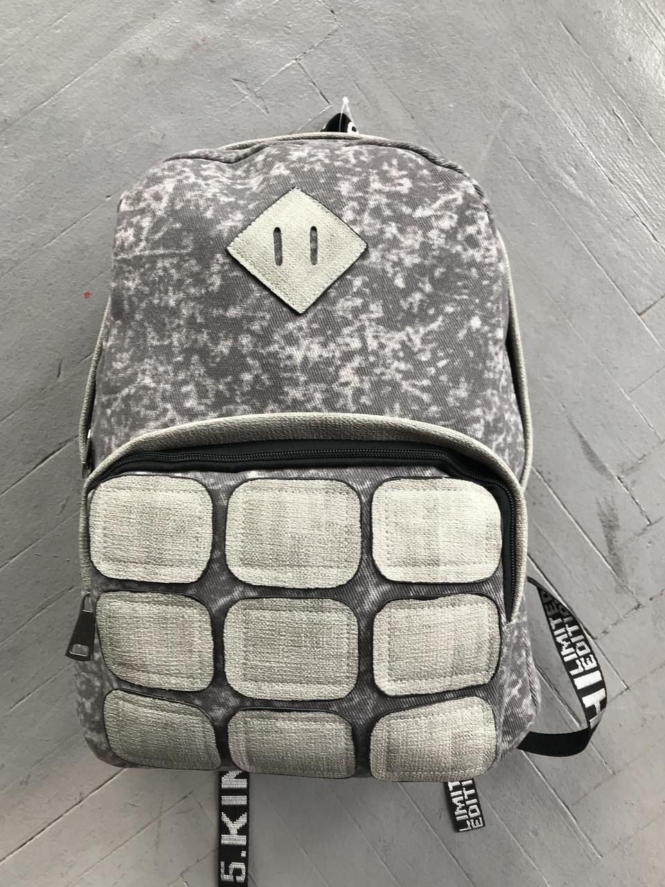 Городской рюкзак 8229, серый