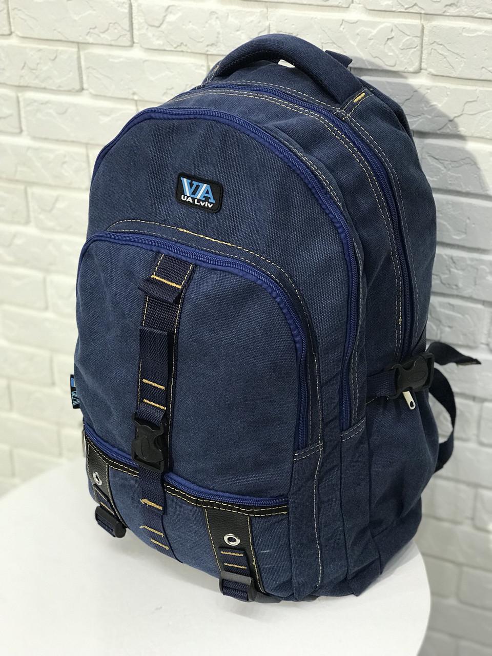 Городской рюкзак VA R-89-151, синий