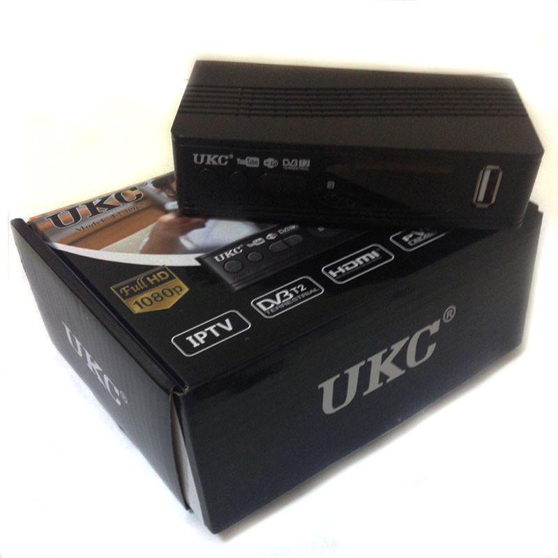 ТБ ресивер тюнер DVB-T2 UKC 0967 з підтримкою wi-fi адаптера