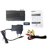 ТБ ресивер тюнер DVB-T2 UKC 0967 з підтримкою wi-fi адаптера, фото 4
