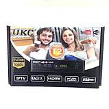 ТБ ресивер тюнер DVB-T2 UKC 0967 з підтримкою wi-fi адаптера, фото 5