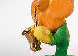 Портативная Bluetooth колонка Dancing Flower G26, оранжевая, фото 2