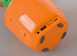 Портативная Bluetooth колонка Dancing Flower G26, оранжевая, фото 4