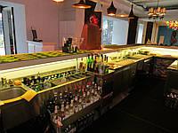 Мебель из нержавейки для бара под заказ (барная станция)