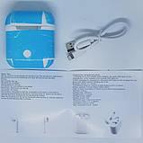 Беспроводные Bluetooth наушники MDR Double BT i9S-TWS с кейсом, белые, фото 3