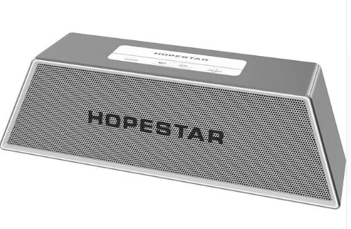 Портативная Bluetooth колонка SPS Hopestar H28, серебристая