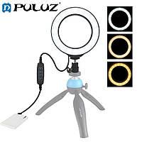 LED кольцо Puluz 3,4 дюйма для блогеров