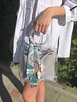 Твилли, Twilly, платок для волос, украшение для волос, платок на сумку Ocean, фото 1