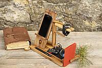Органайзер мужской деревянный. Эксклюзив. Сделано вручную в Украине EcoWalnut