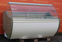 Холодильная витрина среднетемпературная «Технохолод Флорида» 1.8 м. (Украина), широкая выкладка 70 см., Б/у, фото 1