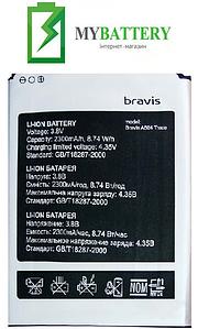Оригинальный аккумулятор АКБ (Батарея) Bravis A504 Trace | X500 Trace Pro 3.8V 2300mAh
