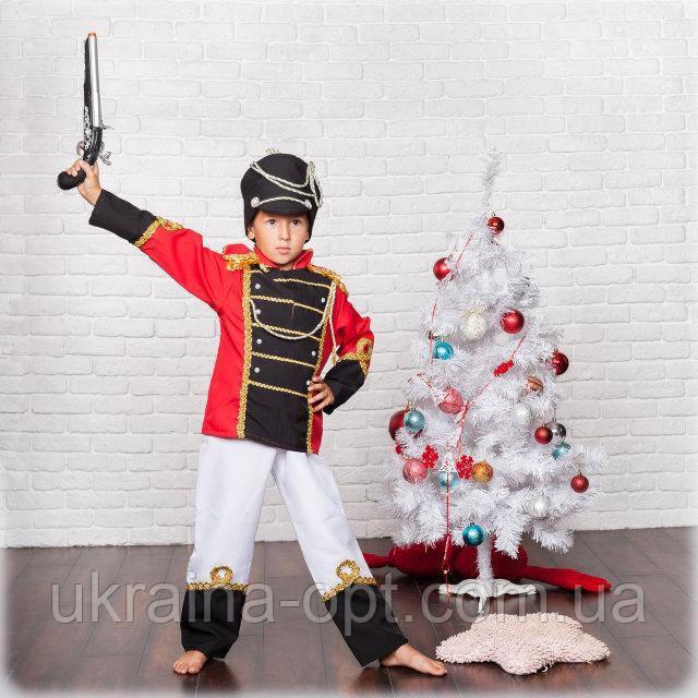 Детский карнавальный костюм для мальчика Гусар