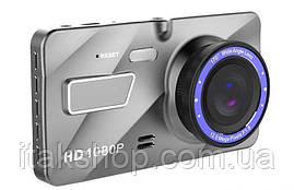 """Видеорегистратор DVR A10 4"""" Full HD с выносной камерой заднего вида, фото 2"""