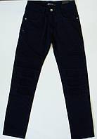 Котоновые черные  брюки на мальчика рост 134-158  см, фото 1