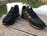 Кроссовки мужские черные Adidas Iniki реплика, фото 2