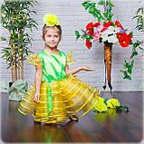 Сценическое детское платье одуванчика , фото 2