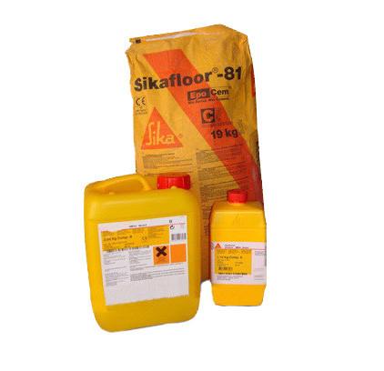 Стяжка для полов Sikafloor-20 Purcem (A+B+C) 32,5 кг.
