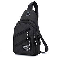 Мужской компактный рюкзак на одно плечо (СР-1026), фото 1