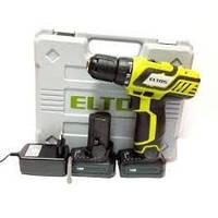 Шуруповерт аккумуляторный Eltos ДА 18М Li-ion