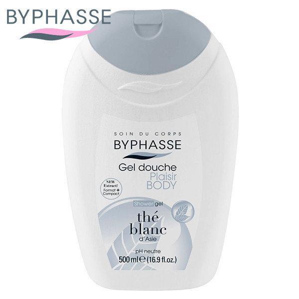 """Гель для душа Byphasse """"Белый чай"""" (500мл.)"""