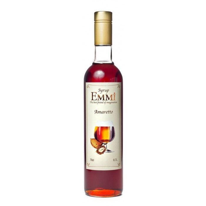Сироп Еммі Амаретто 700 мл (900 грам) (Syrup Emmi Amaretto 0.7)