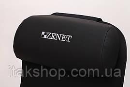Массажная накидка роликовая Zenet ZET-848 с прогревом, фото 3